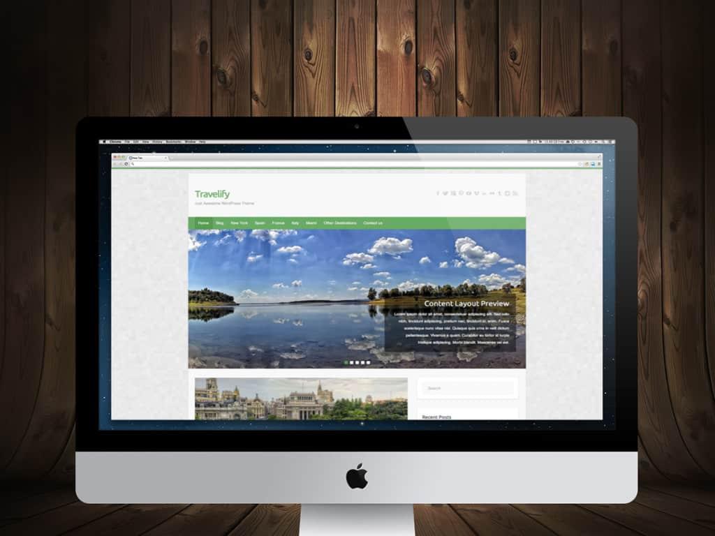 Travelify WordPress