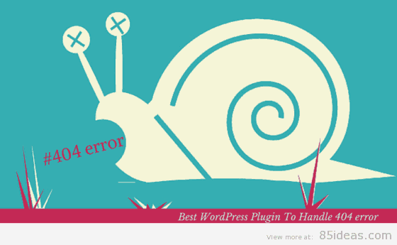 Best WordPress 404 error plugin