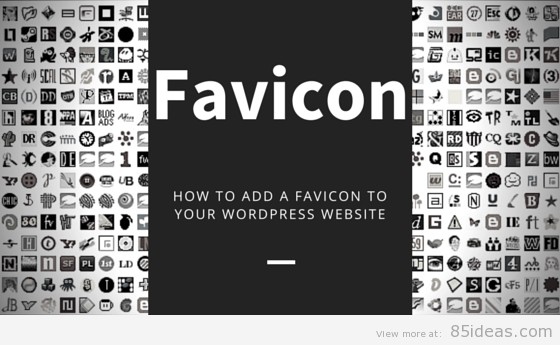 change wordpress favicon