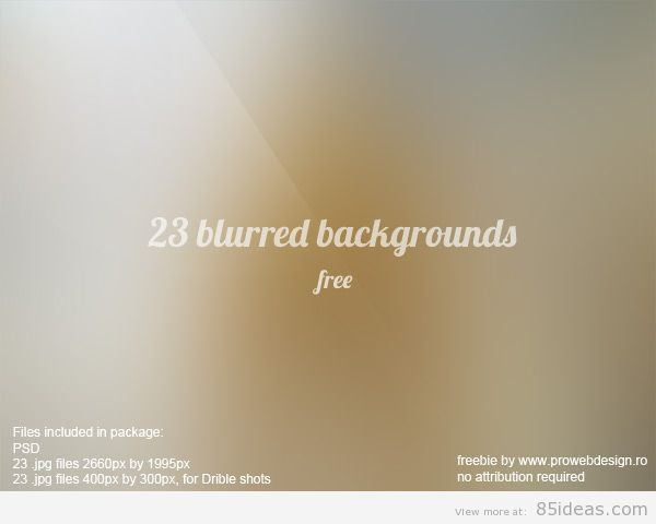 free high resolution blurred backgrounds