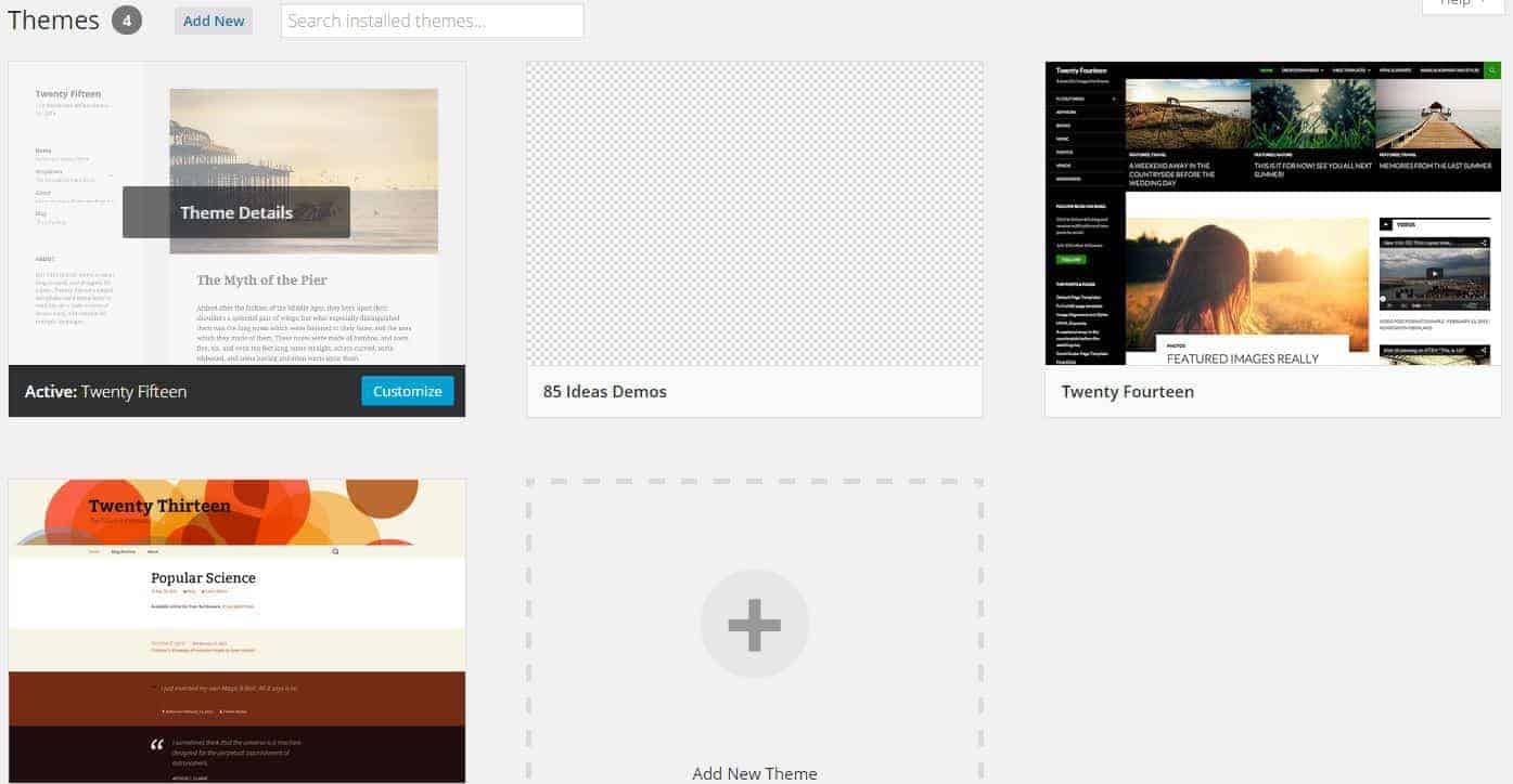 2-themes-showed-wordpress
