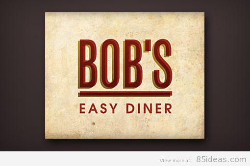 Bobs Diner logo