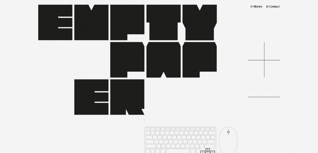 Emptypaper Webdesign