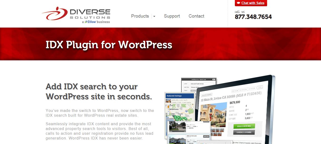 IDX Plugin for WordPress