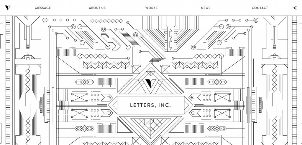 LETTERS INC design