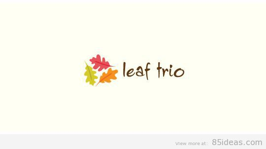 Leaf trio logo