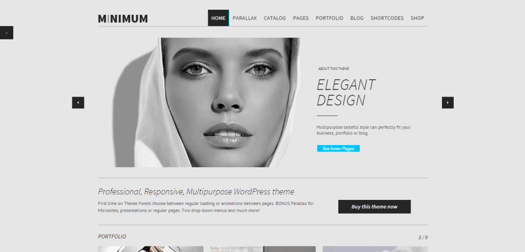 Minimum WordPress Theme