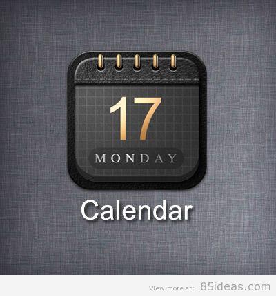 Monday calendar