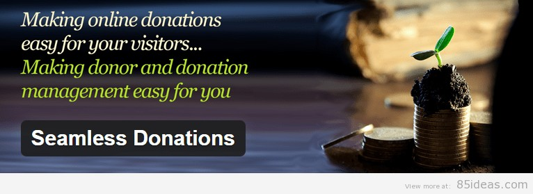Seamless Donation WordPress Plugin