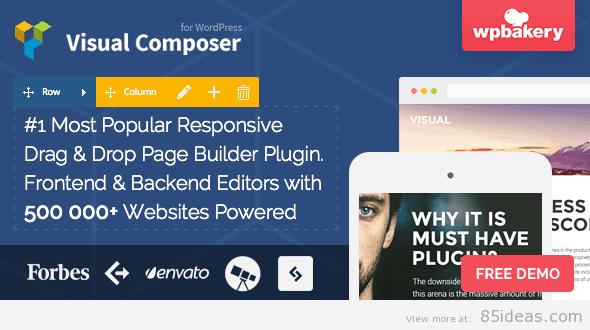 Visual Composer - WordPress WYSIWYG Editors