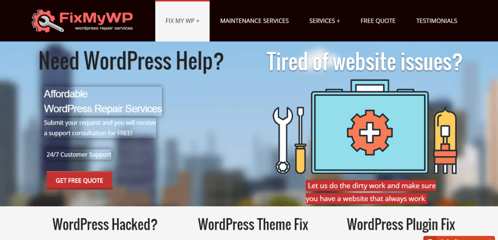 WordPress Exper Fix My WP