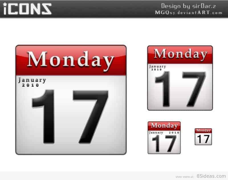 calendar_icons_psd