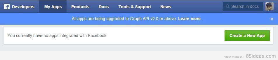 create-app-facebook