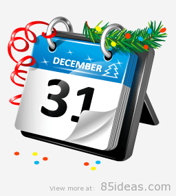 new-years-calendar-icon