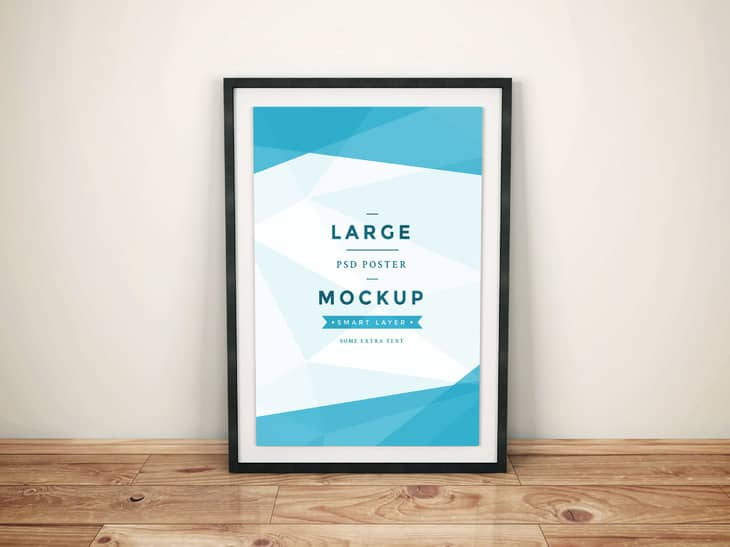 Artwork Frame PSD Mockup Vol4