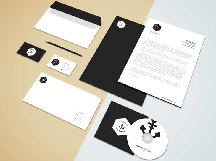 Branding-Stationery Mockup Vol5