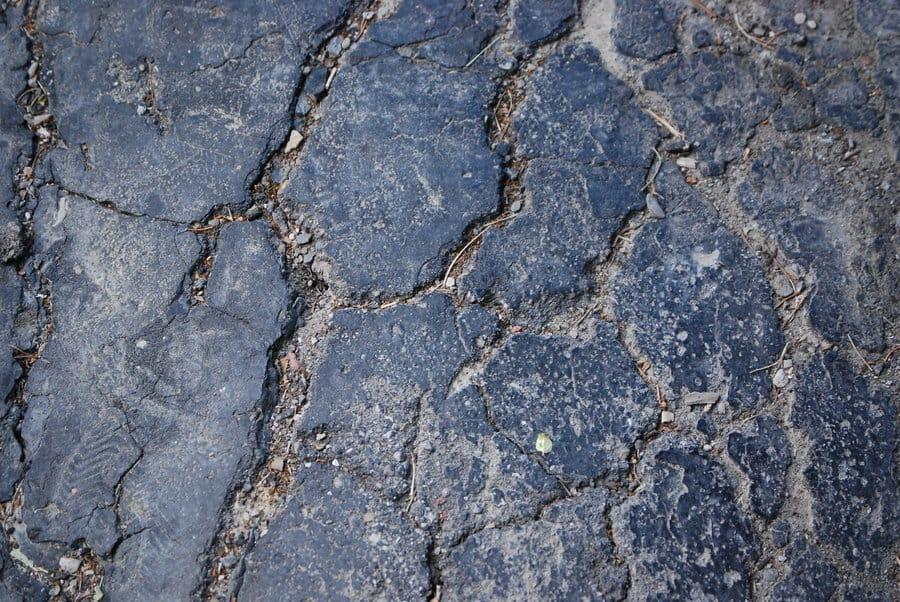 Cracked Asphalt Texture