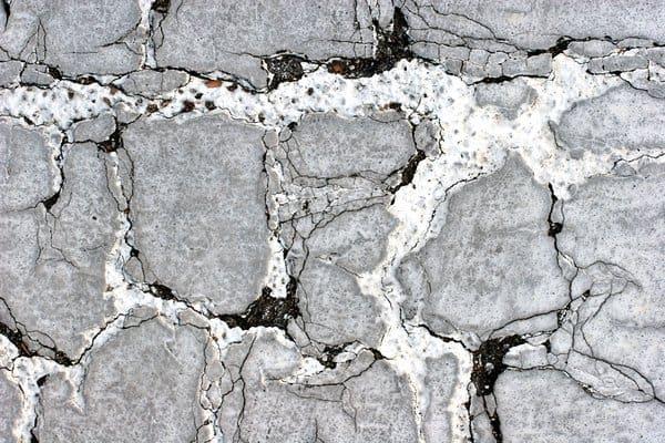 Damaged Asphalt Texture