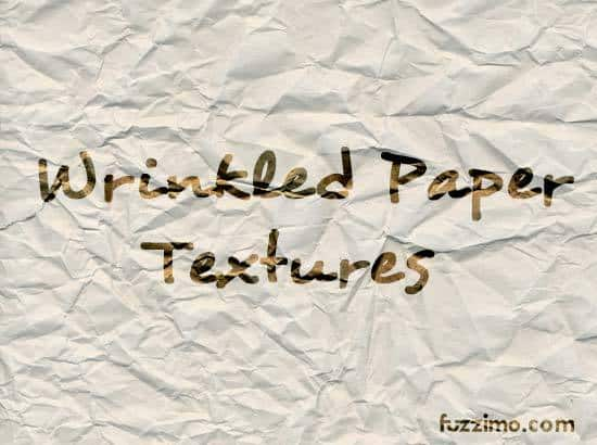 Free Wrinkled Paper Textures