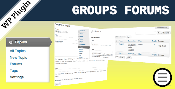 Groups Forums