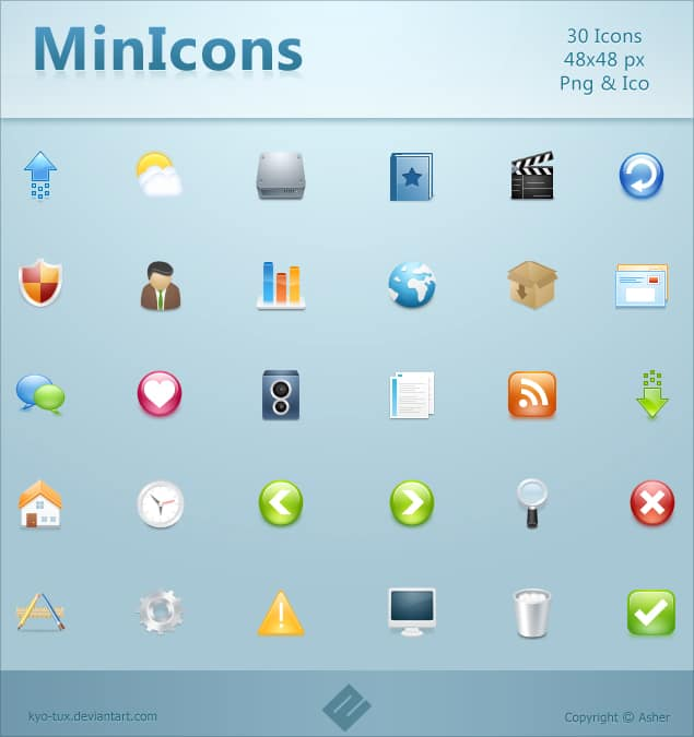 MinIcons Pack