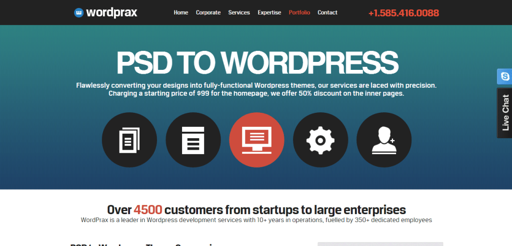Best PSD to WordPress Service