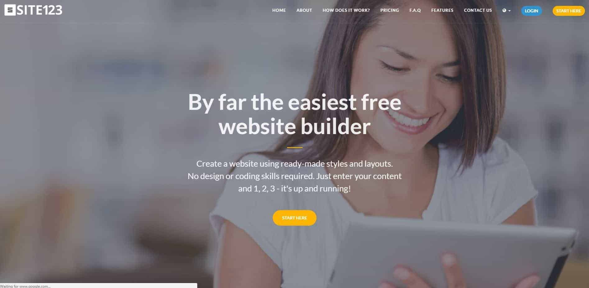 Free HTML5 Website Builders