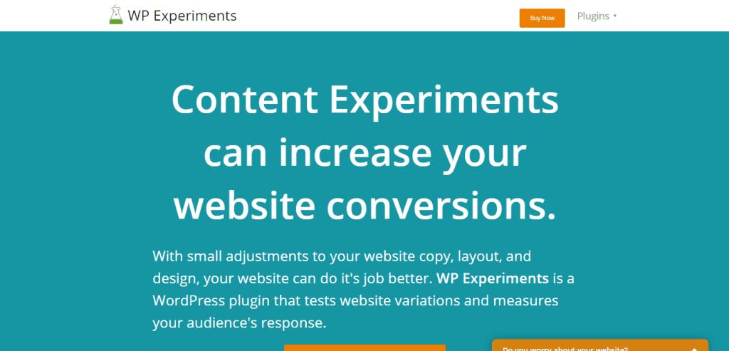 WP Experiments