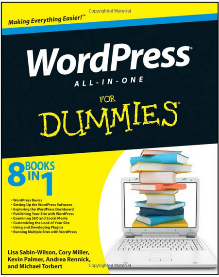 WordPress All in One For Dummies Book