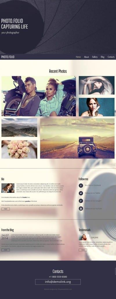 photofolio template