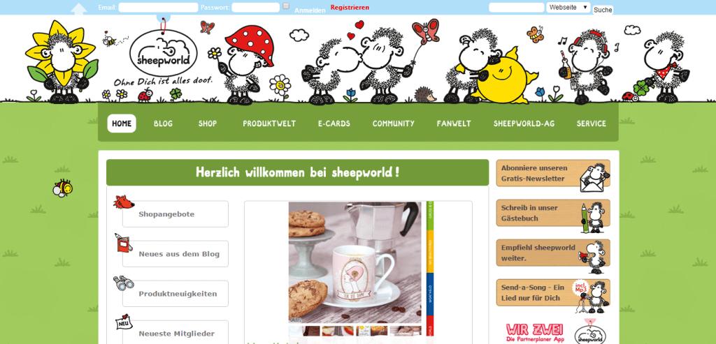 sheepworld BuddyPress showcase