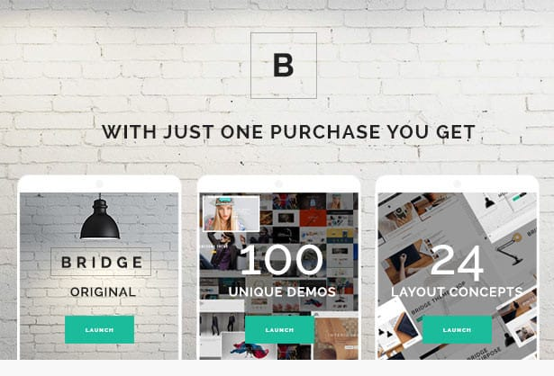 Bridge Multi-Purpose WordPress Theme