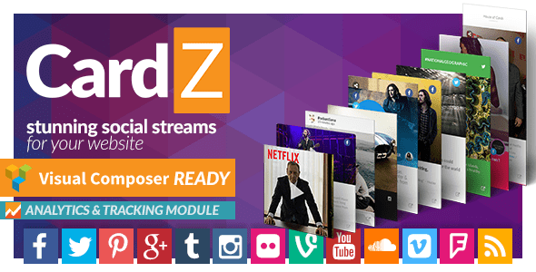 CardZ Social Stream for WordPress