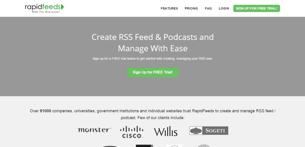 Create RSS Feed Publish Podcast