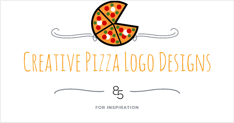 20+ Creative Pizza Logo Designs For Inspiration   85ideas.com
