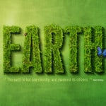Earth logo Photoshop design tutorial