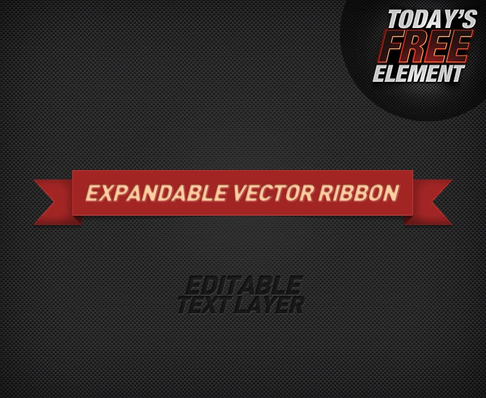 Editable expandable Ribbon