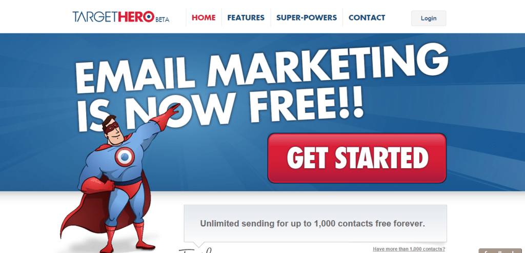 Email Marketing Is Now Free TargetHero