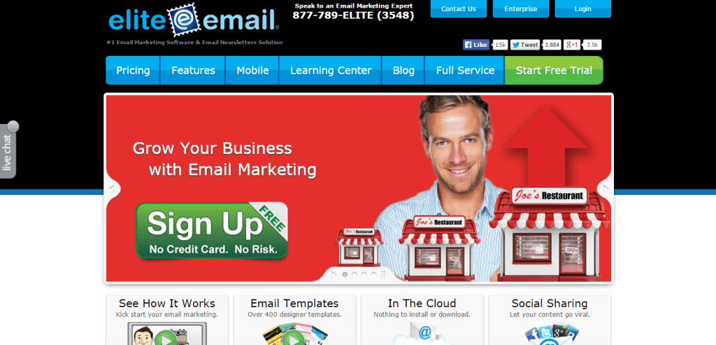 Email Marketing Software Elite Email
