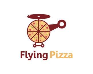 Flying Pizza logo