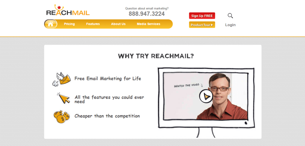 Free Email Marketing Software ReachMail