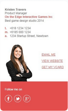 Market Me Series Email Signature Template