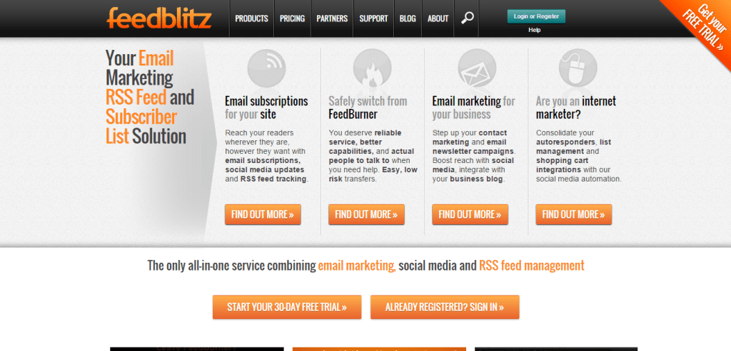 RSS Feed Subscriber Services FeedBlitz