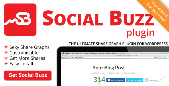 Social Buzz WordPress Plugin