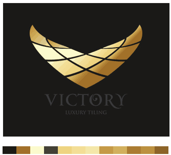 Victory Luxury Tiling logo