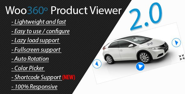 Woo360 Product Viewer