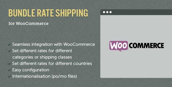 WooCommerce E-Commerce Bundle Rate Shipping
