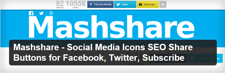 WordPress Mashshare Social Media Plugin