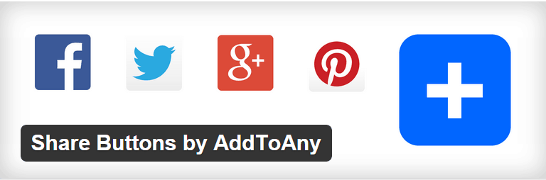 WordPress Share Buttons by AddToAny