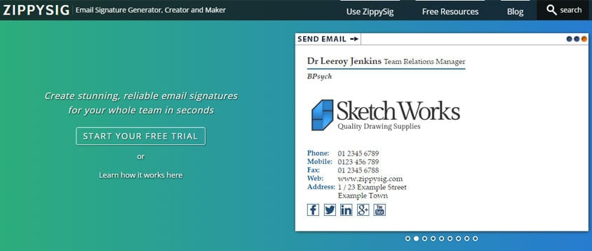 13 Best Email Signature Templates And Tools